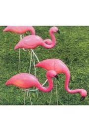 3.5in x 3in 10 Piece Flamingo Lights Stakes