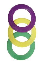 5.5in Purple Green Yellow Skimmer Rings