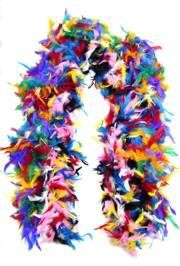 Multi Color Feather Boas