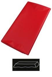 54in x 108in Red Plastic Tablecovers