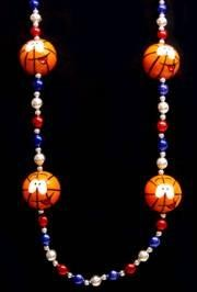 Goofy Basketball Necklace