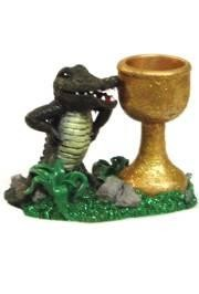 3in x 4in Alligator Candle Holder
