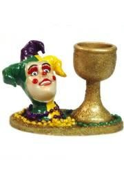 3in Jester Candle Holder