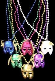 Assorted Color Mask Necklace