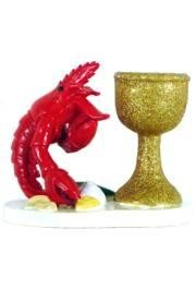 3in x 4in Crawfish/ Lobster Candle Holder