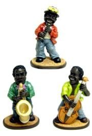 6in x 4in Jazzman Series Figurines