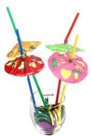 Parasol/ Umbrella Straws