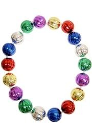 52in 70mm Swirl Ball Bead