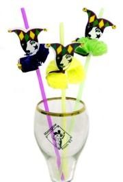 Everything at a party should be lively and fun.  Even your drinks!  So liven them up with decorative straws!