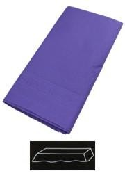 54in x 108in Purple Plastic Lined Paper Tablecovers