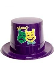 Mardi Gras Party Top Hat