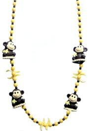 Four Squeaky Monkeys Bead/ Necklace