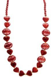 Puckered Lips Necklace