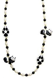 42in Panda Bear/ Paw print Bead