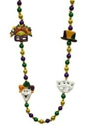 Mardi Gras Costumes Necklace
