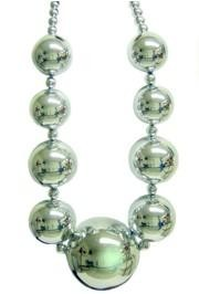 Big Balls Necklace: Silver