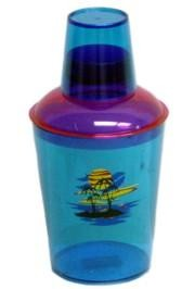 5in x 4in dia Plastic Tropical Drink Shaker
