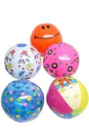 12in Inflatable Beach Ball Assortment