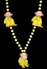 42in Monkey w/ Banana Necklace