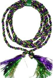 9ft Purple/ Green/ Gold Rope Garland