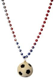 For the soccer players and fans we offer Mardi Gras themed soccer beads and necklaces.