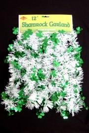 Add the finishing touch to your St. Patrick's Day decorations with Garland. Our Garland inventory includes Pull Out Garland, Shamrock Garland, Gold Star Garland, and Green Wire Garland.