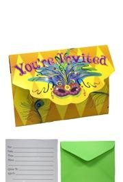 Throwing a masquerade or birthday party?  Have a look at our great party invitations!