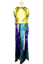 36in x 9in Polyester 3D Crown Windsock