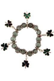 St Patricks Shamrock/ Clover Charm Bracelets