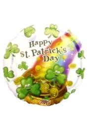 Brighten up your St. Patrick's Day party with balloons and curling ribbon.  We have St. Patrick's Mylar balloons, Shamrock balloons, St. Patrick's hat balloons, and green curling ribbon to tie your balloon down with.