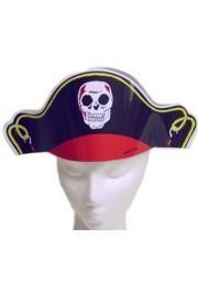 15in x 5 1/2in Paper Bandana Pirate Hat