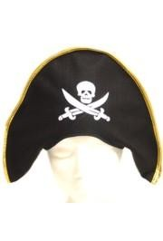 Skull and bone pirate hat