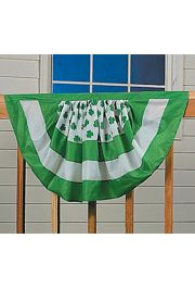 39in x 22in Nylon St Pats Bunting