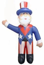 65in Jumbo Inflatable Uncle Sam