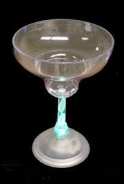 Plastic Light Up Margarita Glass