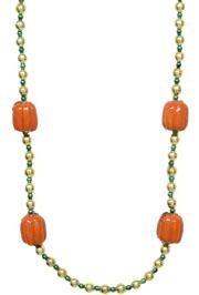 42in Pumpkin Necklace
