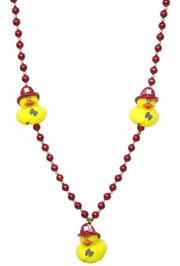 42in Fireman Rubber Duck Necklace