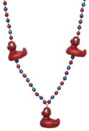 Spiderman Rubber Duck Necklace