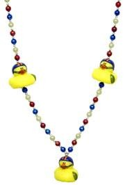 42in Football Rubber Duck Necklace