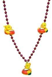 42in Cheerleading Rubber Duck Necklace