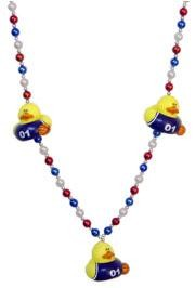 Basketball Rubber Duck Necklace