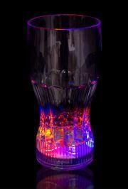12oz Plastic Light Up Drinking Glass