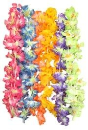 36in Assorted Color Jumbo Carnation Lei