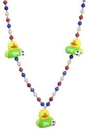 42in Soccer Rubber Duck Necklace