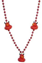 Devil Rubber Duck Necklace