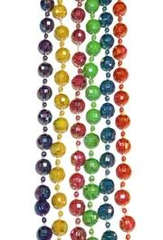 12mm 42in Assorted Opaque AB Beads