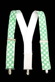 2in Adult St Pats Day Suspenders