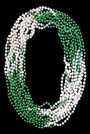 St. Patrick's Day Parades and Parties are even better when you throw some Mardi Gras style beads.