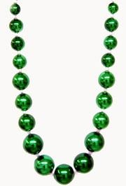 54in 55-30mm Graduated Metallic Green Ball