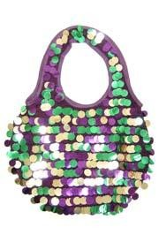 Festive purses for the festive ladies! We have Mardi Gras Coin Purses, Mardi Gras Canvas Bags, and Sequin Purses.
